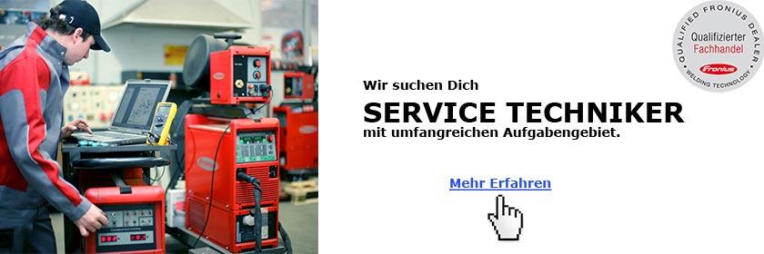 Service Techniker gesucht - Stellenausschreibung - Hamburg - Schweiss-Shop