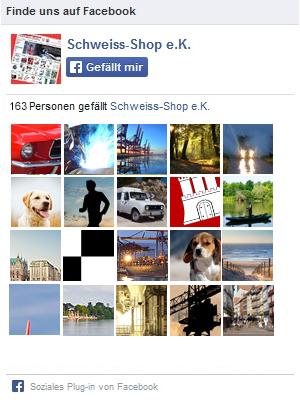 Schweiss-Shop auf Facebook