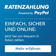 PayPal-Ratenzahlung